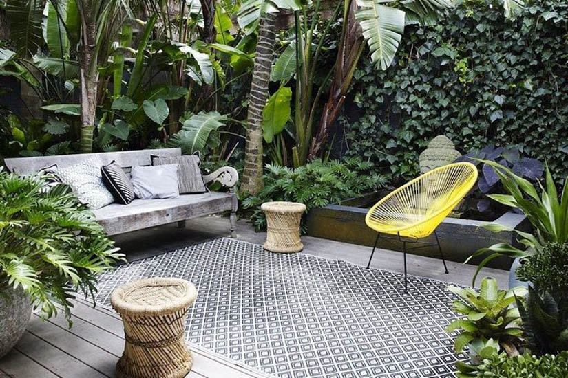 Courtyard garden inspiration grotec landscape solutions for Courtyard landscaping